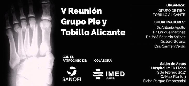 5º Reunión Grupo Pie y Tobillo Alicante
